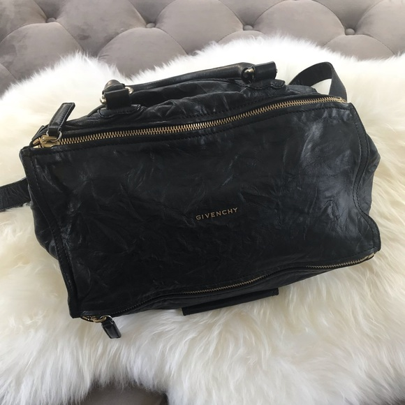 Givenchy Handbags - Reserved do not buy. GIVENCHY large Pandora black 843ef711f3fa4